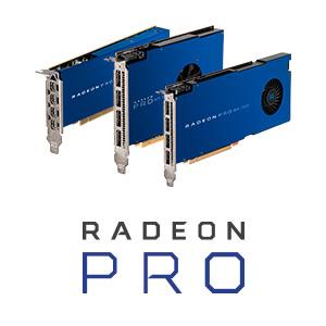 Cartes graphiques AMD Radeon Pro